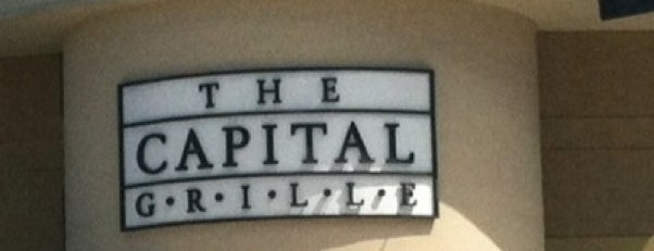 The Capital Grille is one of Restaurants.