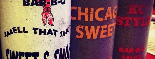Bandana's Bar-B-Q is one of Favorite Food.