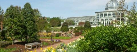 Lewis Ginter Botanical Garden is one of RVA parks.