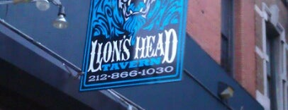Lion's Head Tavern is one of My Favorite Bars.