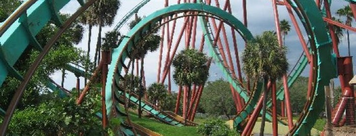 Busch Gardens Tampa Bay is one of Atlanta Miami.