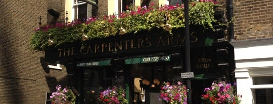 Carpenter's Arms is one of London.