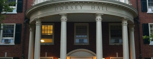 Dorsey Hall is one of Miami U.