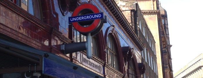 Russell Square London Underground Station is one of Rail stations.