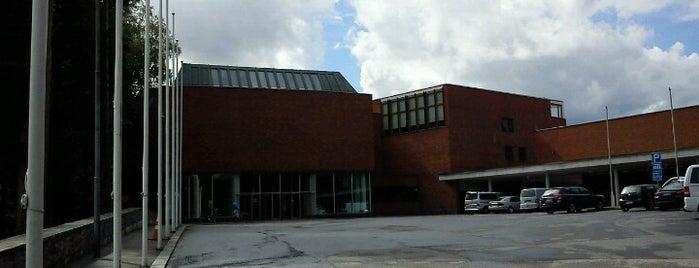 Päärakennus / Main building (C) is one of Running in Jyväskylä.