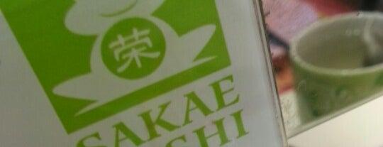 Sakae Sushi is one of yummy.