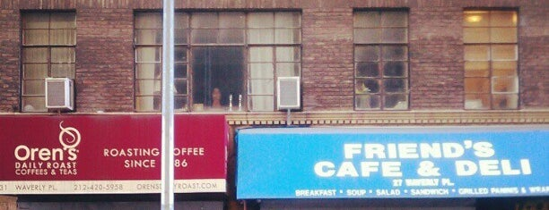 Oren's Daily Roast is one of NY Espresso.