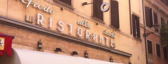 Alfredo alla Scrofa is one of Рим.