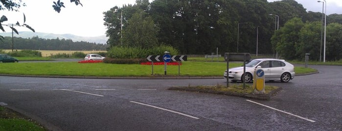 Antonshill Roundabout is one of Named Roundabouts in Central Scotland.