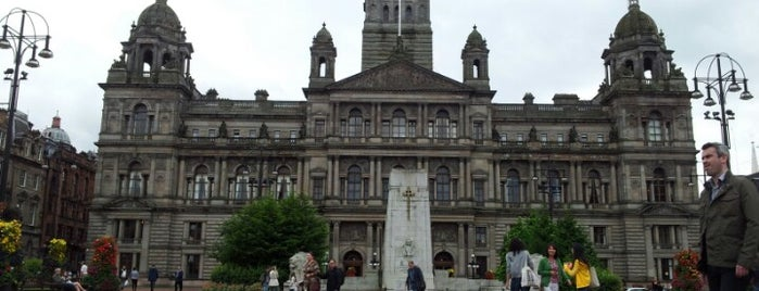George Square is one of Essential Glasgow visits.