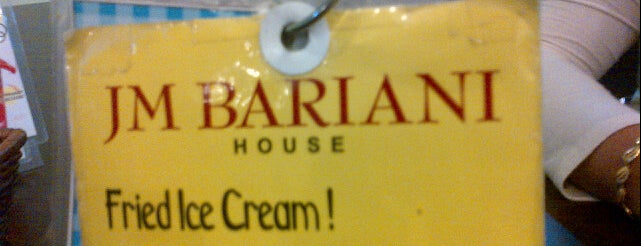 JM BARIANI HOUSE is one of restaurant.