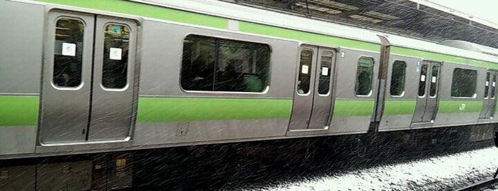 Ikebukuro Station is one of 山手線.