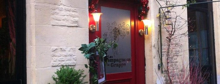 Les Compagnons de la Grappe is one of Lille restaurants.