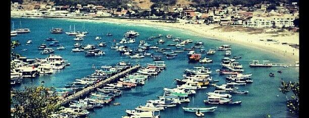 Praia dos Anjos is one of Rio 2013.