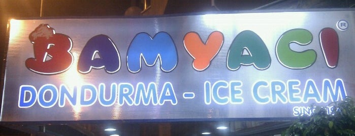 Bamyaci Dondurma is one of yas's choice.