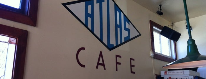 Atlas Cafe is one of San Francisco.