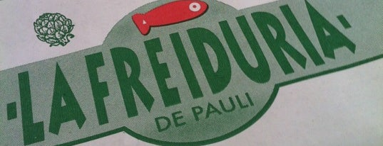 La Freiduría de Pauli is one of restaurantes interesantes en Barcelona.