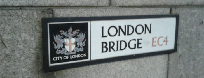 London Bridge is one of London.