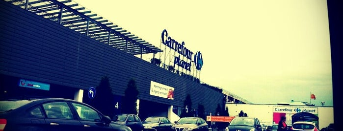 Carrefour hypermarché is one of Réseau carte Ticket Restaurant®.