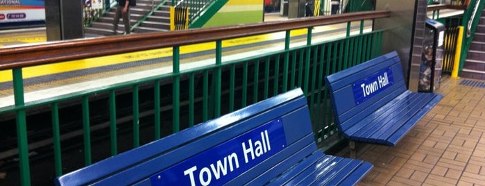 Town Hall Station (Platforms 5 & 6) is one of Favourites.