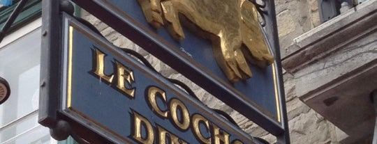 Le Cochon Dingue is one of Quebec to-do/eat.
