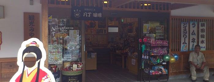 岡崎公園観光みやげ店 is one of グレート家康公「葵」武将隊.