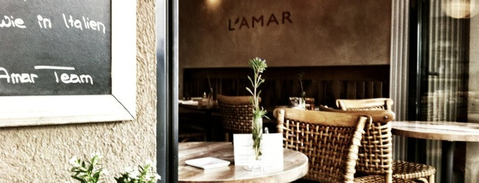 L'Amar is one of Munich - eat & drink.