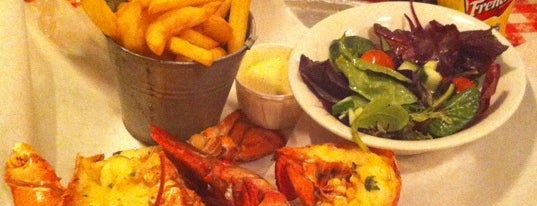 Big Easy Bar.B.Q & Crabshack is one of USA in London.