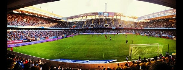 Estadio de Riazor is one of My favorites.
