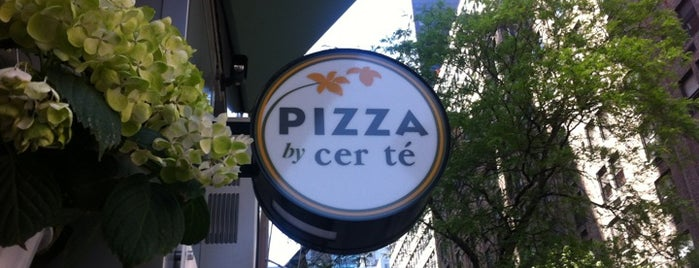 Pizza By Cer Tè is one of inexpensive lunches in midtown.