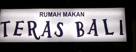 Teras Bali is one of Pekalongan World of Batik.