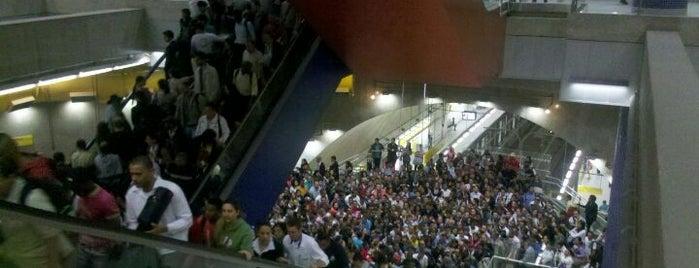 Estação Pinheiros (Metrô) is one of Meus Locais.
