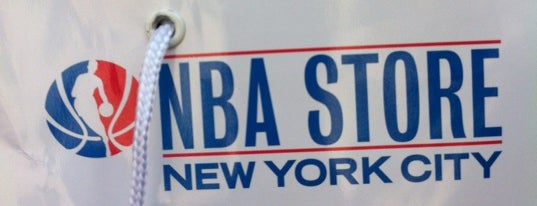 NBA Store is one of NYC's Lower East Side.