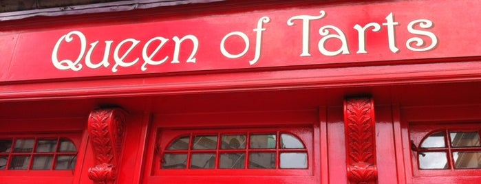 Queen of Tarts is one of The 15 Best Cozy Places in Dublin.