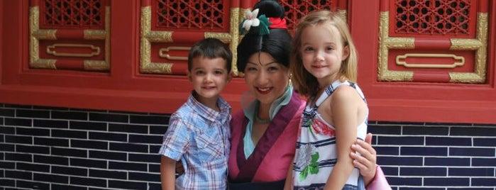 Mulan Meet & Greet is one of Walt Disney World - Epcot.