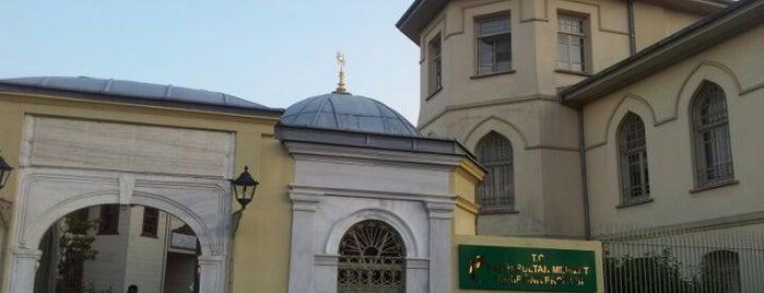 Yenikapı Mevlevihanesi is one of Tarih/Kültür (Marmara).