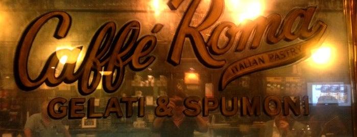 Caffé Roma is one of Espresso - Manhattan < 23rd.