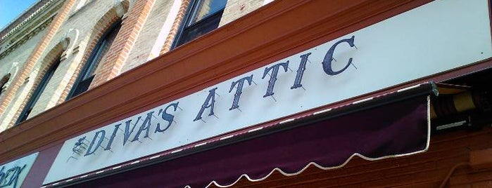 Diva's Attic is one of Experience the Square.