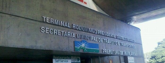Terminal Rodoviário Presidente Castelo Branco is one of Places.
