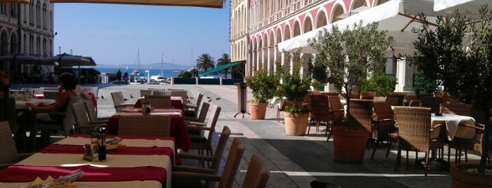Caffe-restoran Bajamonti is one of Split.