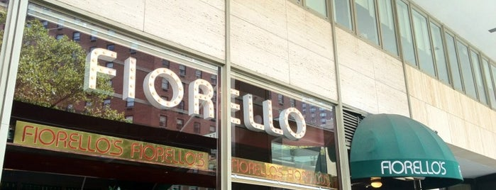 Cafe Fiorello is one of NEW YORK 6.