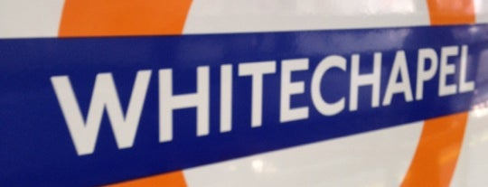 Whitechapel London Underground and London Overground Station is one of Railway stations visited.