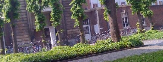 College De Valk is one of My favorite places in Leuven, Belgium  #4sqCities.