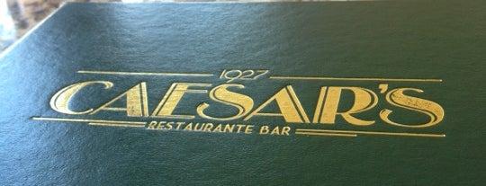 Caesar's Restaurant Bar is one of Comida.