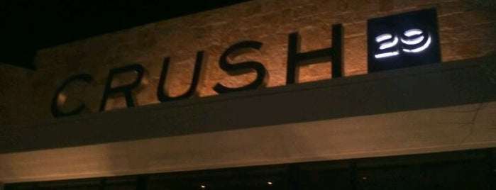 Crush 29 is one of Establishments to Frequent.