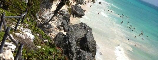 Tulum Beach is one of Tulum.