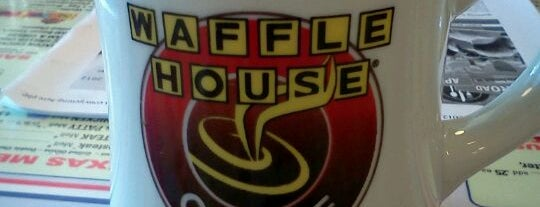 Waffle House is one of Food places I visited.