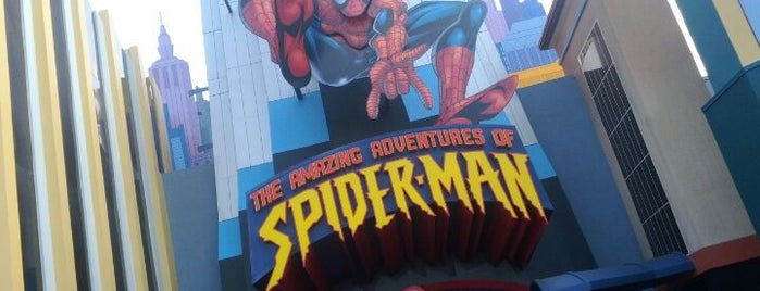 The Amazing Adventures of Spider-Man is one of Florida Trip '12.