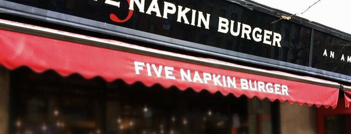 5 Napkin Burger is one of NYC.