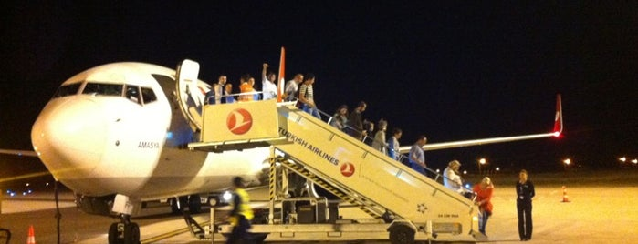 Amasya Merzifon Airport (MZH) is one of Airports in Turkey.